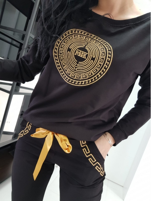 bluza gold black edition