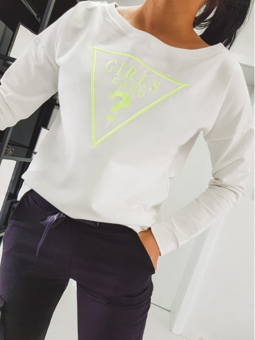 bluza lemon gg white editon